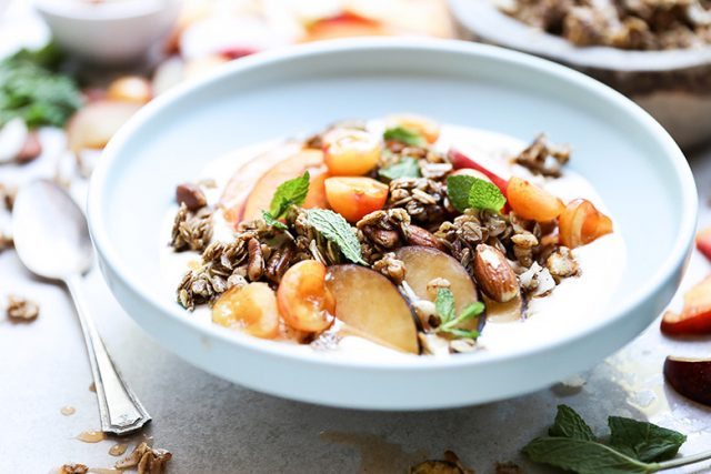 Stone Fruit Breakfast Bowl